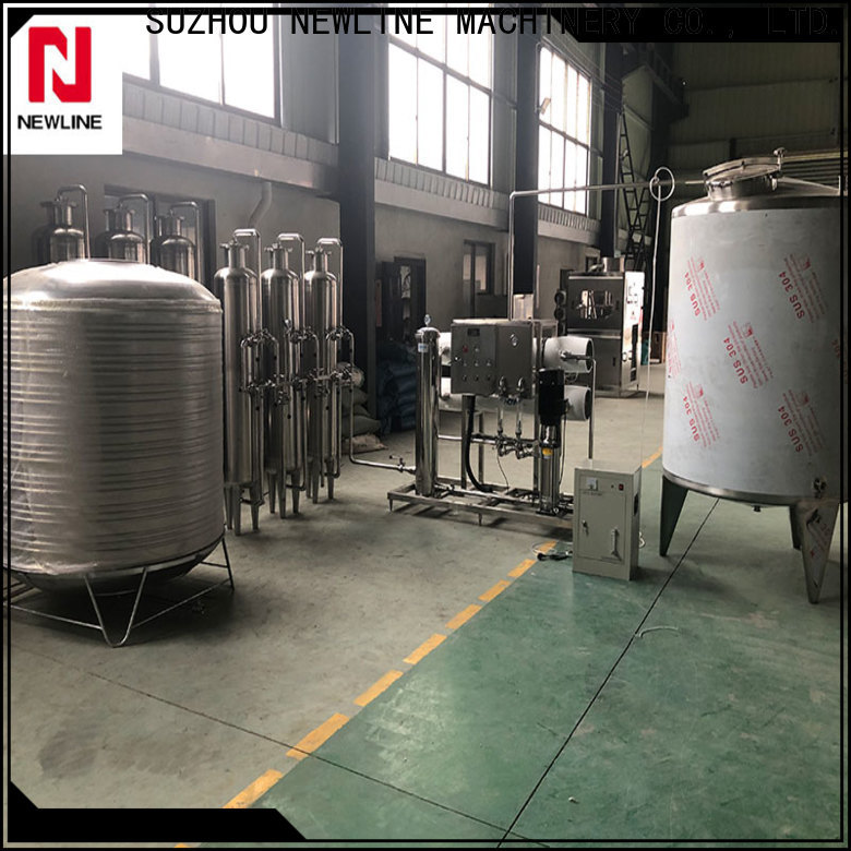 NEWLINE reverse osmosis water treatment system company for packaging