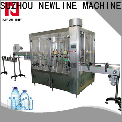 NEWLINE Custom drinking water bottle filling machine Supply for promotion