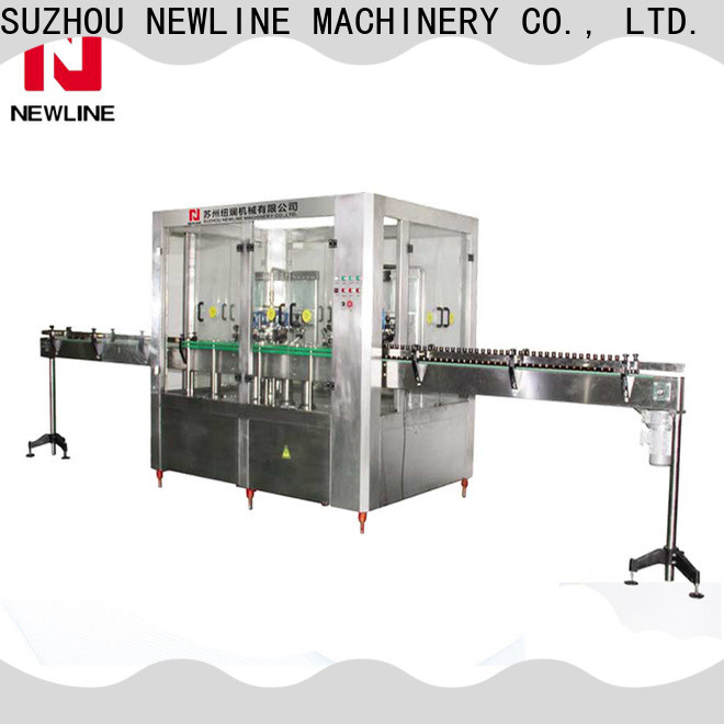 NEWLINE hot sauce bottle filling machine for business for packaging