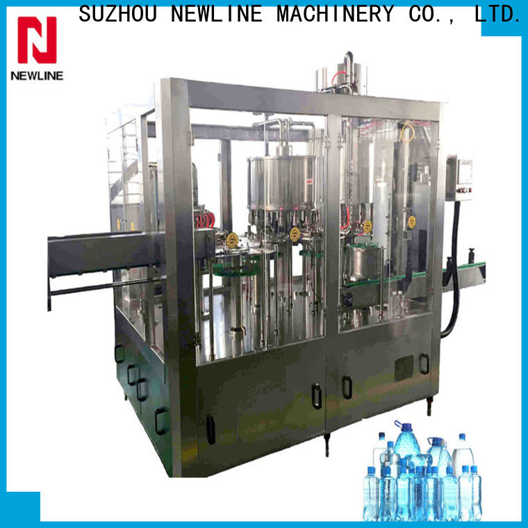 NEWLINE Newline automated bottle filling machine for business for promotion