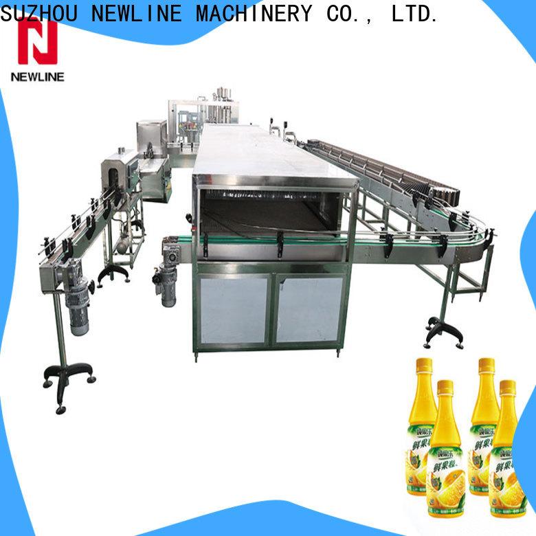 NEWLINE Custom hot sauce bottle filling machine for business for packaging