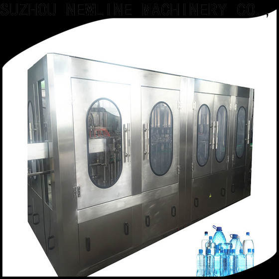 NEWLINE water bottle filling machine price list factory for packaging