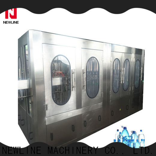NEWLINE Wholesale mineral water treatment Supply bulk production