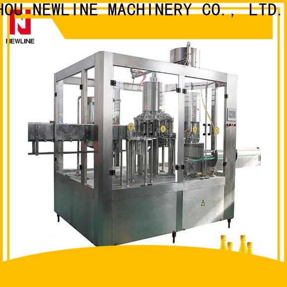 NEWLINE plastic bottle machine company bulk production