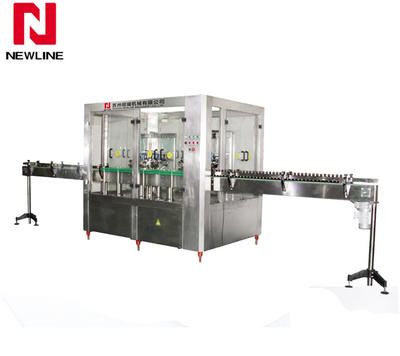 Hot Liquid Filling Machine NLCP16-16 Washing Drying two-in-one Machine